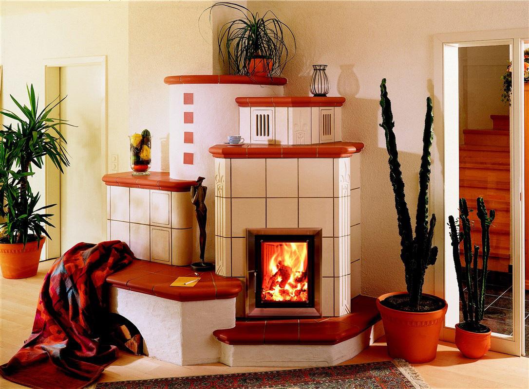 Kachelofen - Warmluftofen 0251, Wohnung