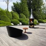 Edelrost-Feuerstelle - Image, Garten, Terrasse