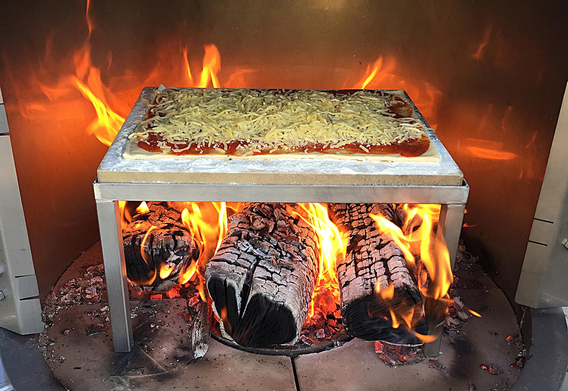 Zubehör Firestar-Gartenkamine - Pizzastein für DN 700 und DN 800