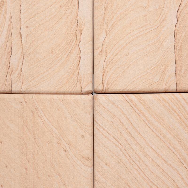 Oberflächenmaterial Speicherkaminöfen - Sandstein