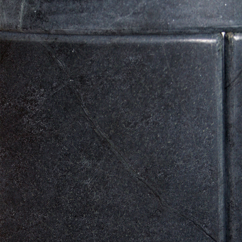 Oberflächenmaterial Speicherkaminöfen - Speckstein Dark