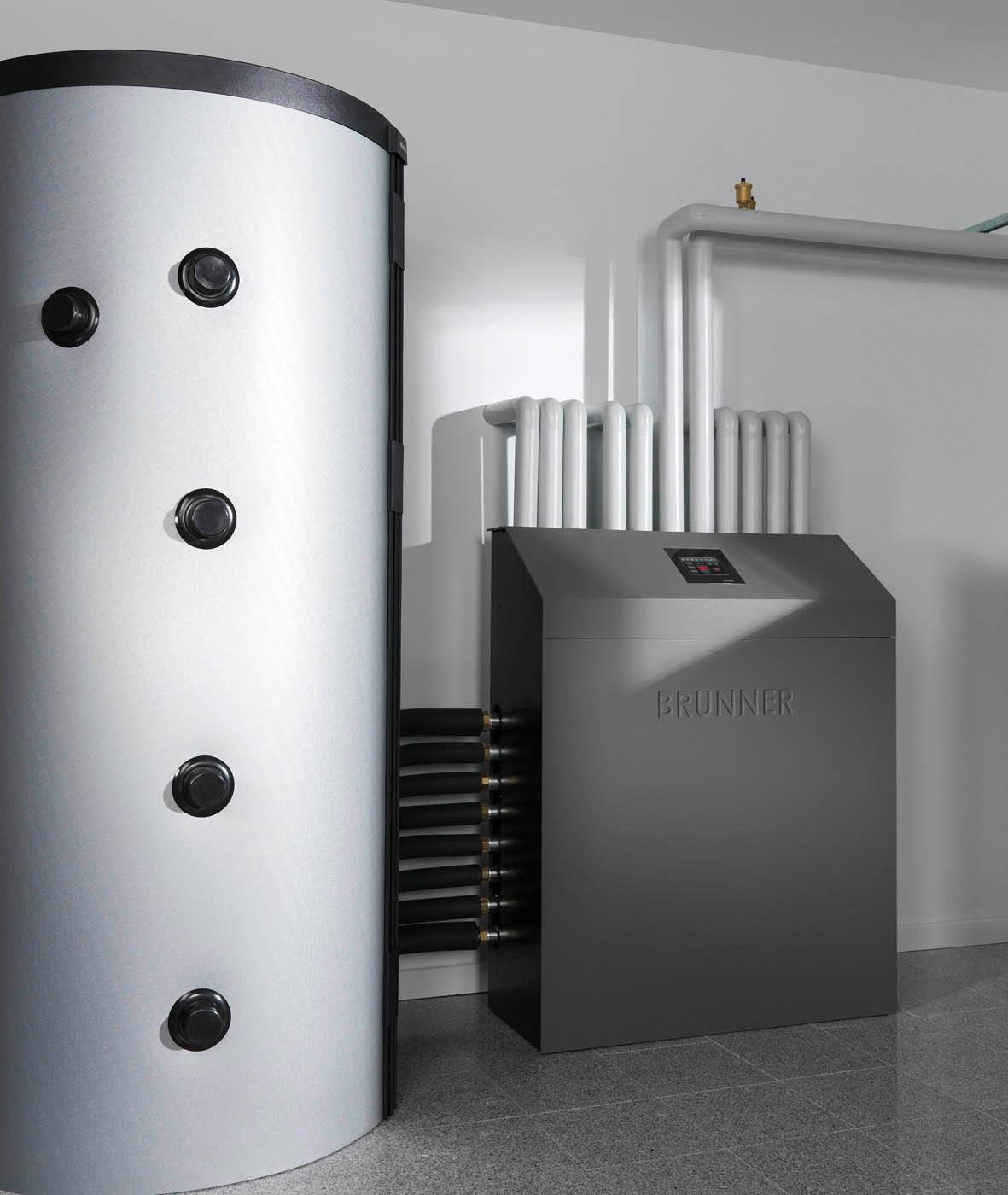 Warmwasseraufbereitung/Kesseltechnik - Brunner, Keller